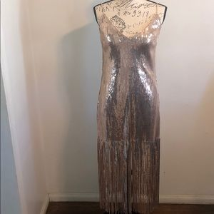 Women's sequin dress.